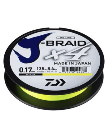 Daiwa J-Braid X4 270 mt Yellow