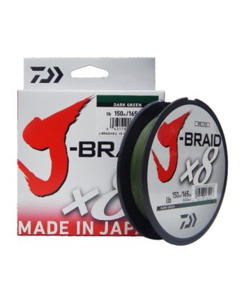 Daiwa J-Braid X8 150mt Dark Green