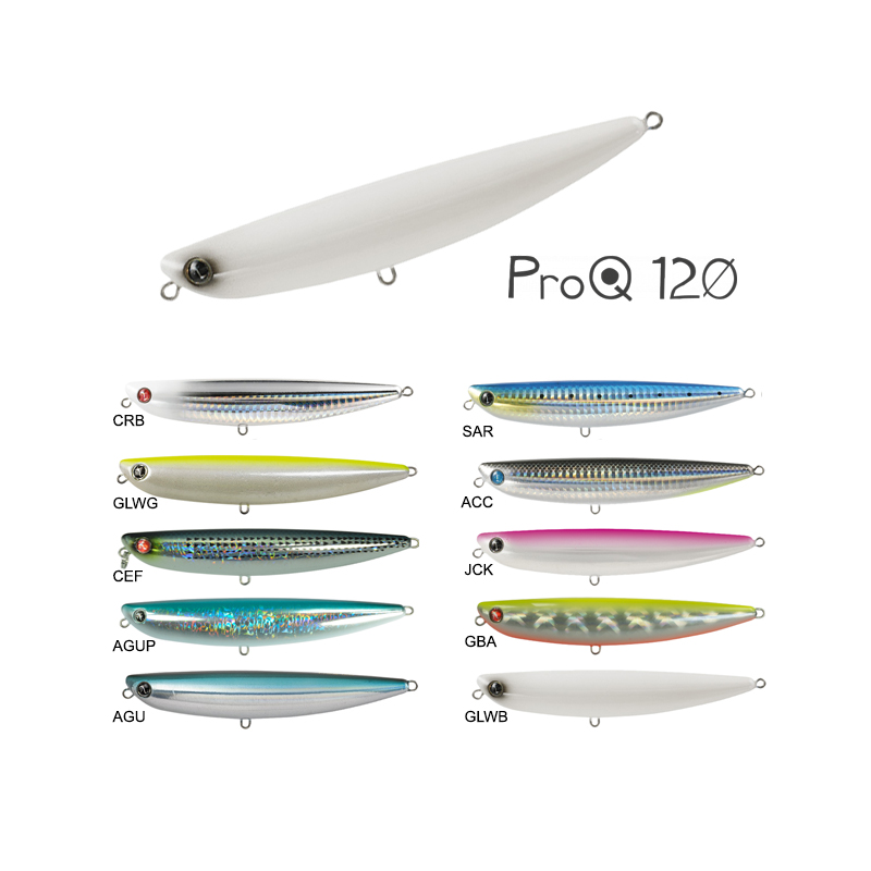 145 GLWG SW Fishing Lure Seaspin Pro-Q